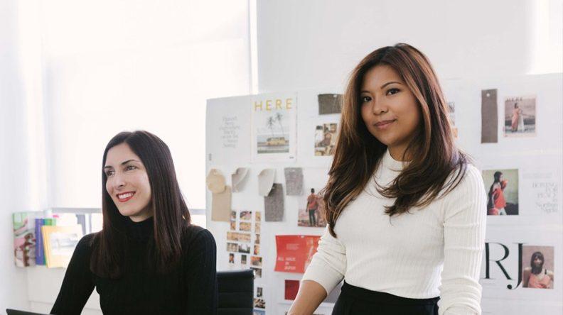 two female entrepreneurs in their office
