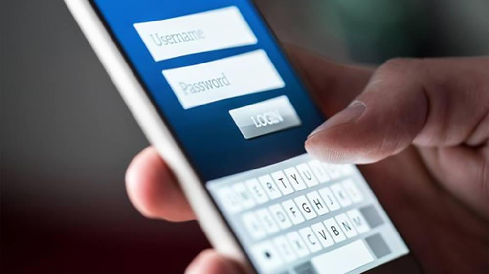Cellphone login